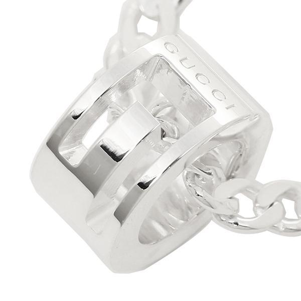 グッチ GUCCI ネックレス アクセサリー GUCCI グッチ 223351 J8400 8106 Gリング ネックレス/ペンダント シルバー メンズ/レディース
