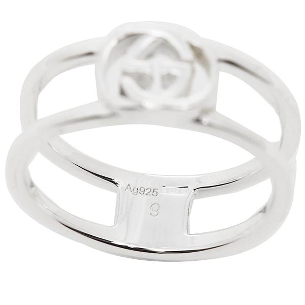 fab1ce035d4a ... グッチ GUCCI 指輪 リング アクセサリー レディース/メンズ GUCCI 298036 J8400 8106 インターロッキングGチャーム