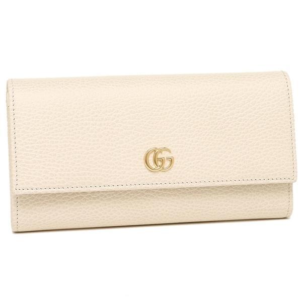 グッチ 長財布 レディース GUCCI 456116 CAO0G 9022 ホワイト