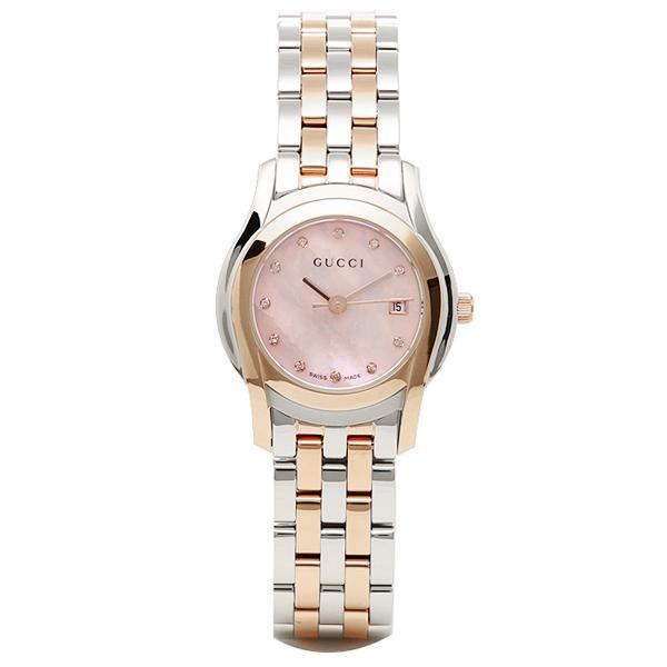グッチ GUCCI 時計 腕時計 グッチ 時計 レディース GUCCI Gクラス 腕時計 YA055536 ウォッチ ピンクパール/
