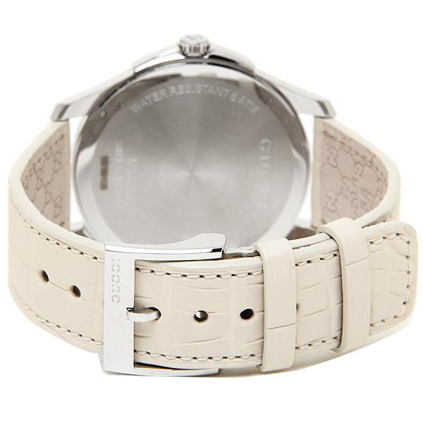 グッチ 腕時計 GUCCI YA126306 ホワイト シルバー