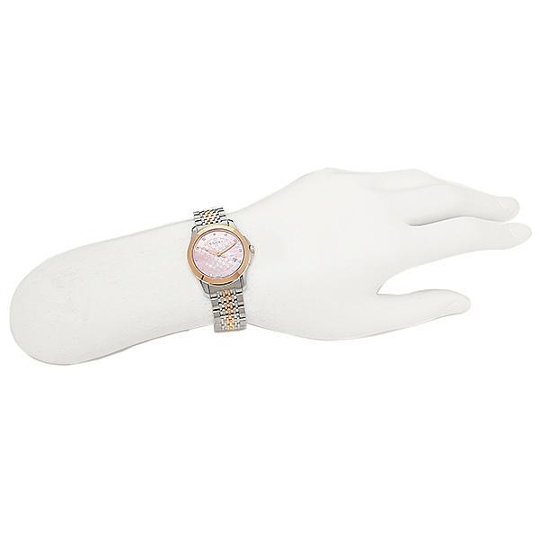 グッチ 時計 レディース GUCCI YA126538 Gタイムレス 腕時計 ウォッチ シルバー/ゴールド/ピンクパール