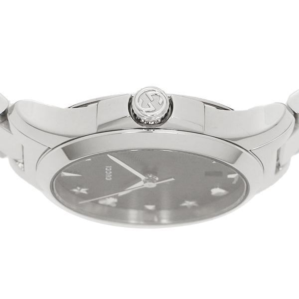 グッチ 腕時計 レディース GUCCI YA126573 ブラック シルバー
