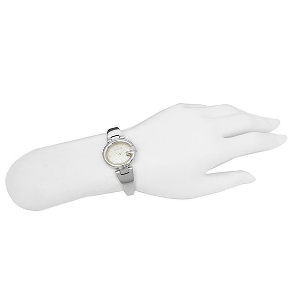 グッチ 時計 レディース GUCCI YA134511 グッチシマ 腕時計 ウォッチ シルバー/ホワイトパール