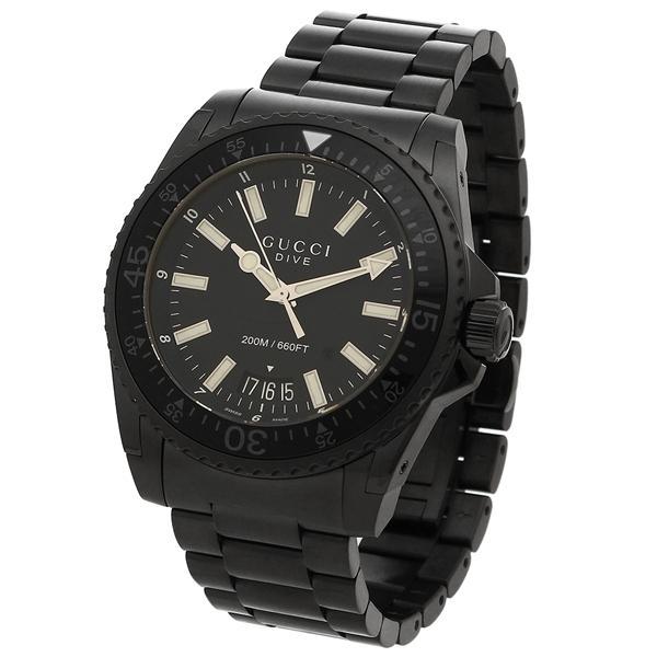 グッチ 腕時計 メンズ GUCCI YA136205 ブラック