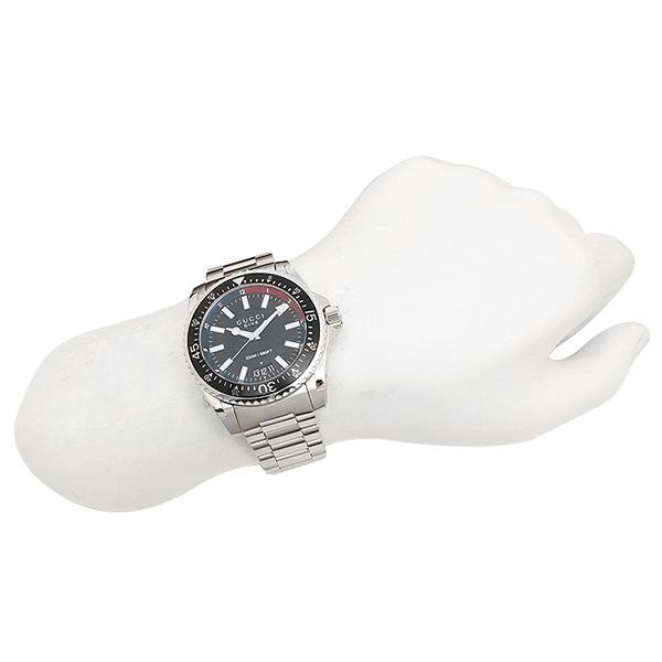 グッチ 腕時計 レディース GUCCI YA136212 ネイビー シルバー
