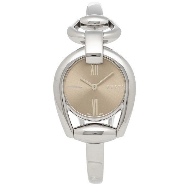 グッチ 腕時計 レディース GUCCI YA139501 ブラウン シルバー