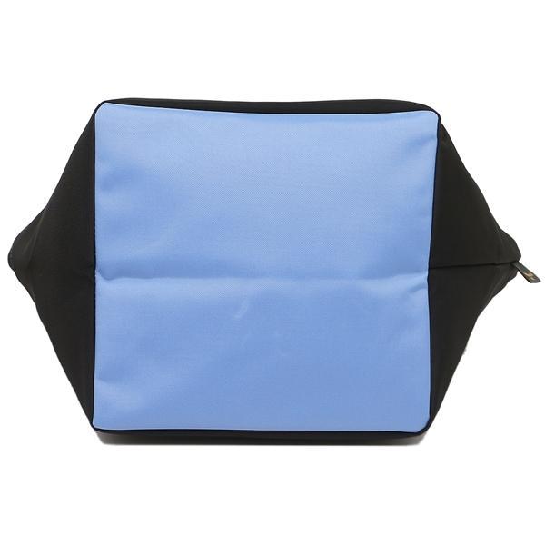 エルベシャプリエ トートバッグ レディース Herve Chapelier 1027N 0911A ブラック ブルー