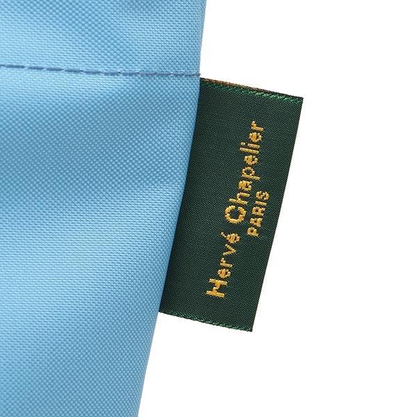 エルベシャプリエ トートバッグ レディース Herve Chapelier 1027N 17B06 ライトブルー ブルー
