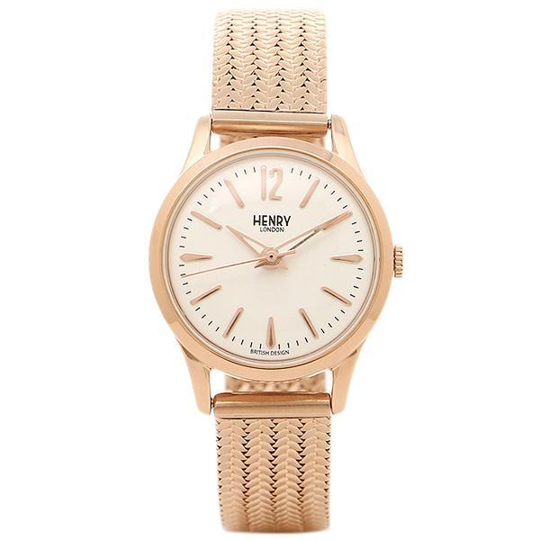 ヘンリーロンドン 腕時計 HENRY LONDON HL25-M-0022 ロ-ズゴ-ルド ホワイト