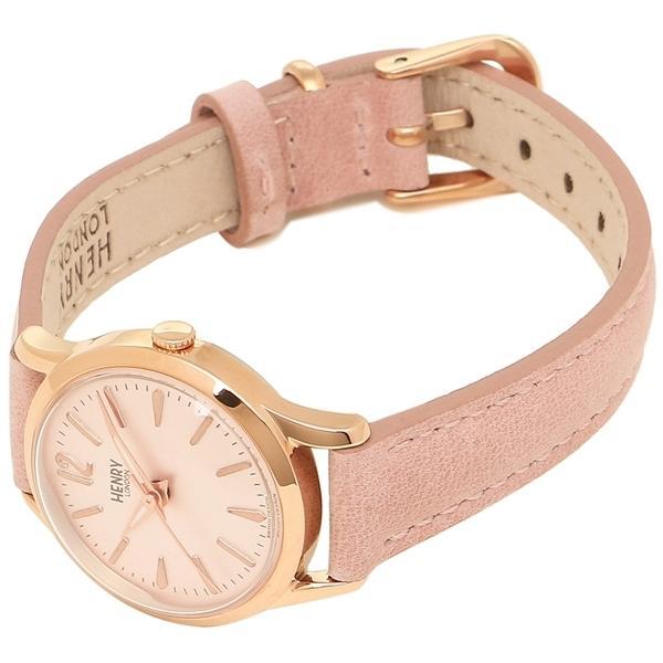 ヘンリーロンドン 腕時計 レディース HENRY LONDON HL25-S-0170 ピンク ピンクゴールド