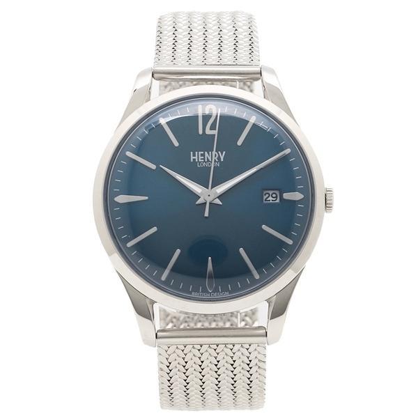 ヘンリーロンドン 腕時計 レディース メンズ HENRY LONDON HL39M0029 シルバー ネイビー