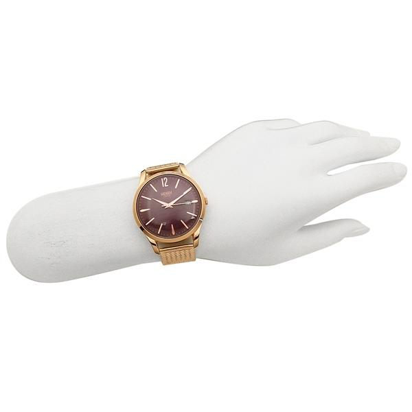 ヘンリーロンドン 腕時計 レディース メンズ HENRY LONDON HL39M0078 ピンクゴールド パープル