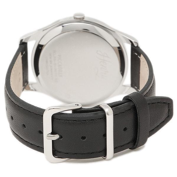 ヘンリーロンドン 腕時計 HENRY LONDON HL39-S-0075 ブラック シルバ-
