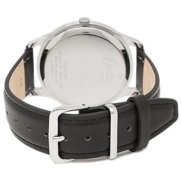 ヘンリーロンドン 腕時計 HENRY LONDON HL39-S-0095 ブラック シルバ- レッド