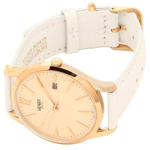 ヘンリーロンドン 腕時計 レディース メンズ HENRY LONDON HL39S0112 ピンク ピンクゴールド ホワイト