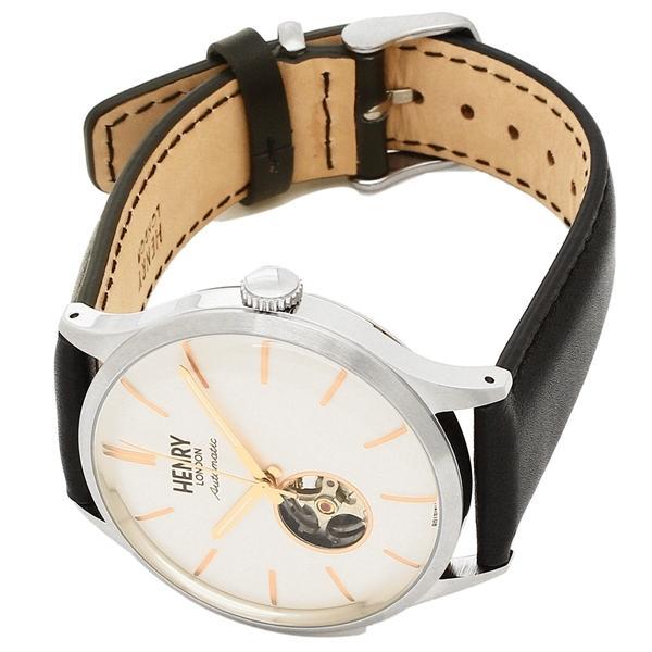 ヘンリーロンドン 腕時計 メンズ HENRY LONDON HL42-AS-0279 ブラック シルバー