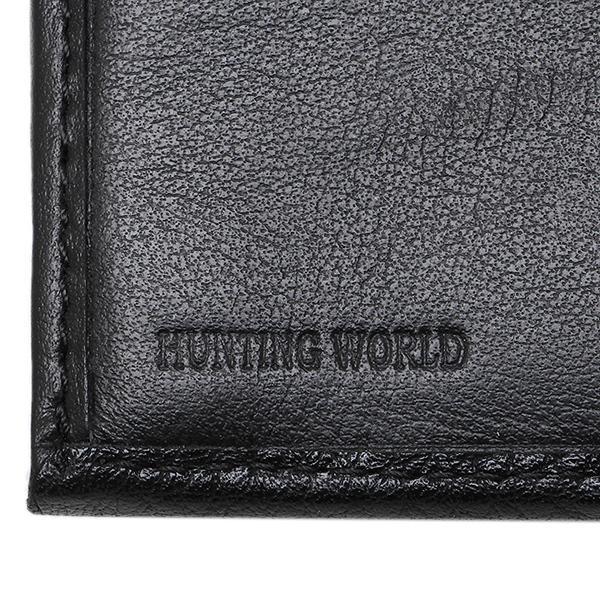 ハンティングワールド 財布 HUNTING WORLD 209-371 KASHGAR 長財布 BLACK