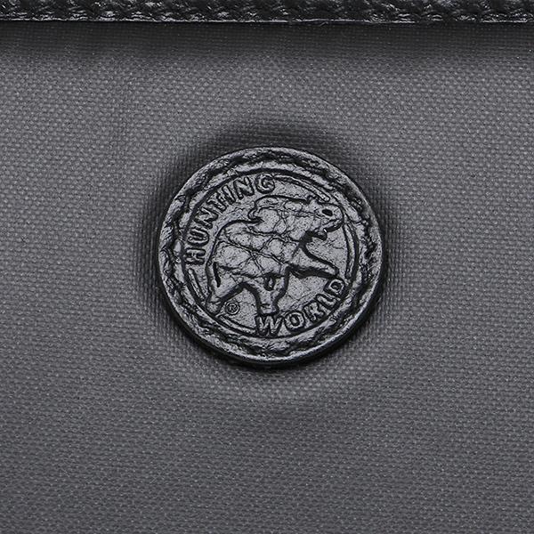 ハンティングワールド 長財布 HUNTING WORLD 827-13A オリジナル ブラック