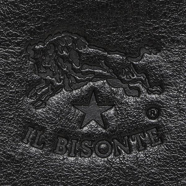 イルビゾンテ キーリング レディース IL BISONTE C0330 P 153 キーリング BLACK