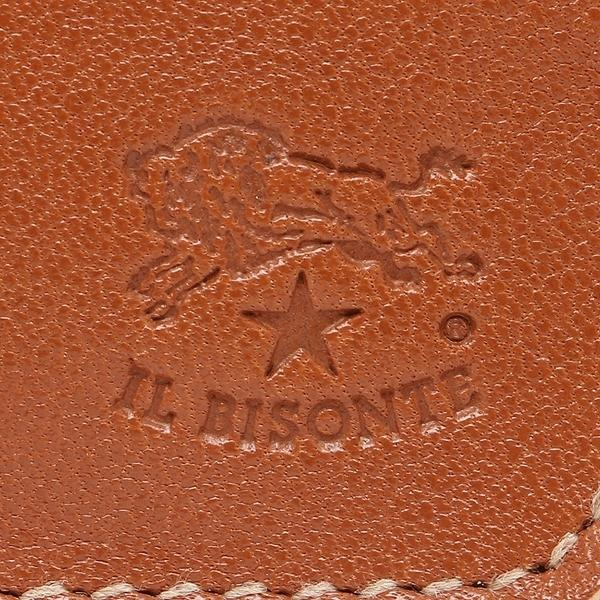 イルビゾンテ コインケース メンズ/レディース IL BISONTE C0357 MP 145 キャラメル