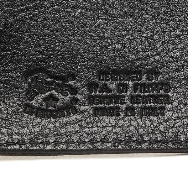 イルビゾンテ コインケース メンズ/レディース IL BISONTE C0357 MP 153 ブラック