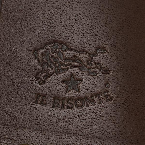 イルビゾンテ キーケース レディース IL BISONTE C0378 P 132 ダークブラウン