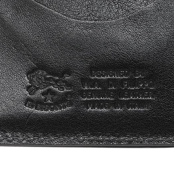 イルビゾンテ 折財布 IL BISONTE C0424 P 153 ブラック