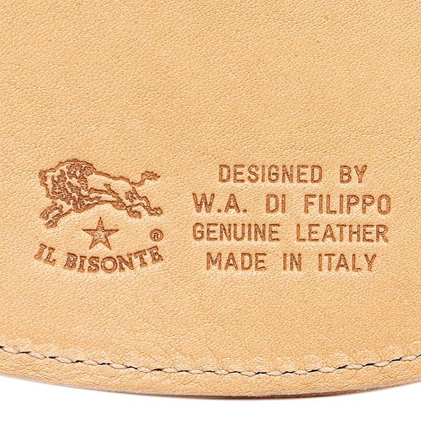 イルビゾンテ コインケース IL BISONTE C0431 P 120 ナチュラル