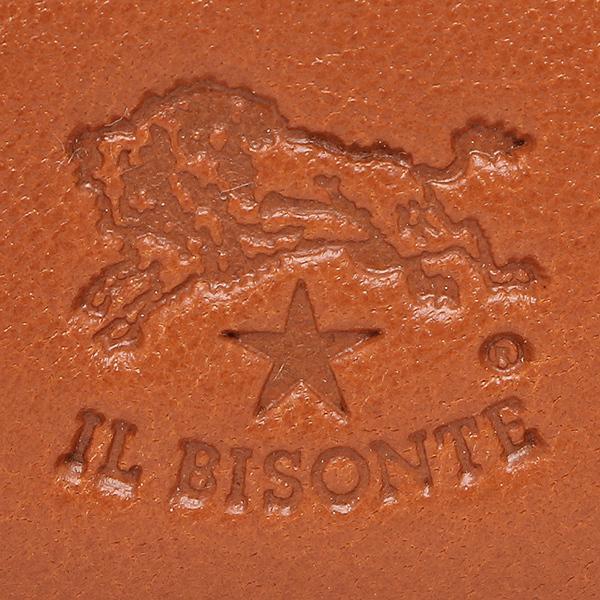 イルビゾンテ メンズ 二つ折り財布 IL BISONTE C0487 MP 145 キャラメル