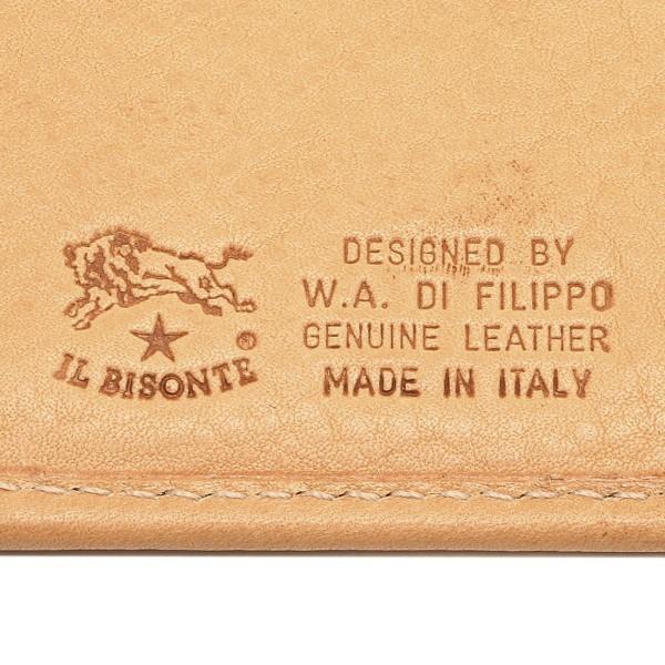 イルビゾンテ IL BISONTE C620 長財布 レザー 120 NATURAL/GOLD ナチュラル/ゴールド
