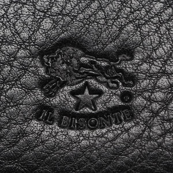 イルビゾンテ 長財布 メンズ/レディース IL BISONTE C0620 P 153 ブラック