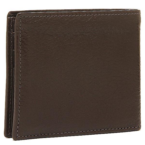 イルビゾンテ メンズ 二つ折り財布 IL BISONTE C0817 P 455 モカ