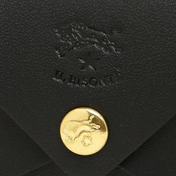 イルビゾンテ カードケース IL BISONTE C0854 P 135 ブラック