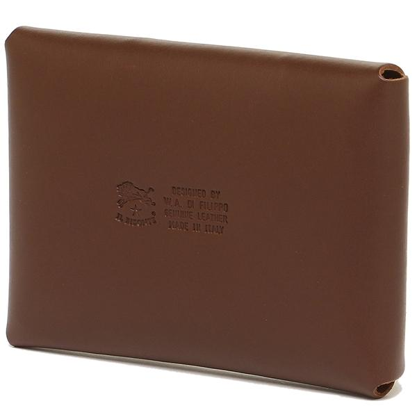イルビゾンテ カードケース メンズ/レディース IL BISONTE C0854 P 846 ブラウン