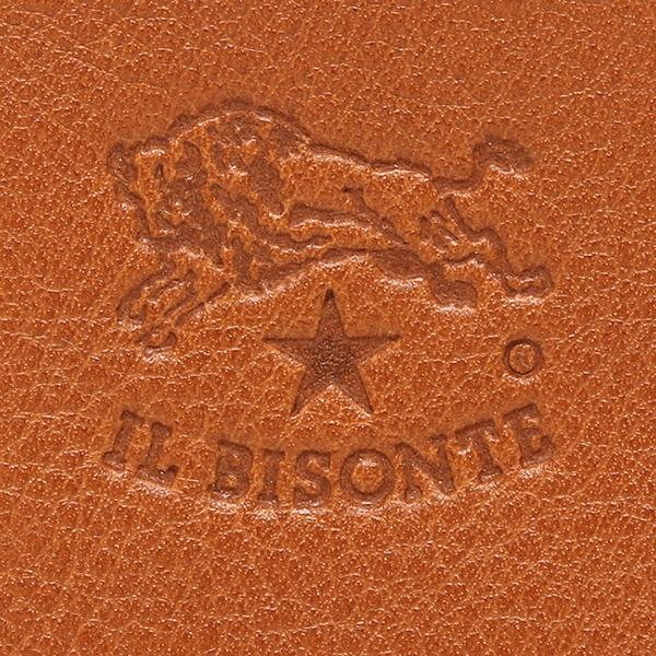 イルビゾンテ 財布 レディース IL BISONTE C0909 P 145 L字ファスナー レザー 長財布 CARAMEL