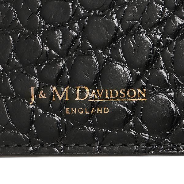 ジェイアンドエムデヴィッドソン 長財布 J&M DAVIDSON 10072 7267 9990 ブラック