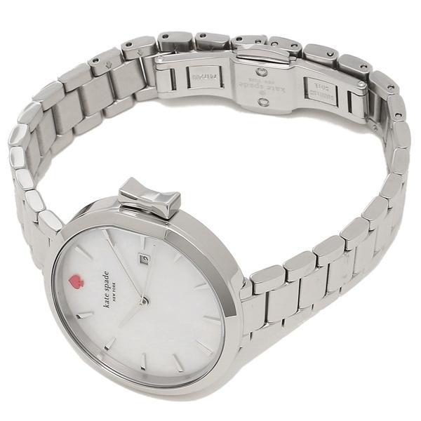 ケイトスペード 腕時計 レディース KATE SPADE KSW1267 シルバー パール