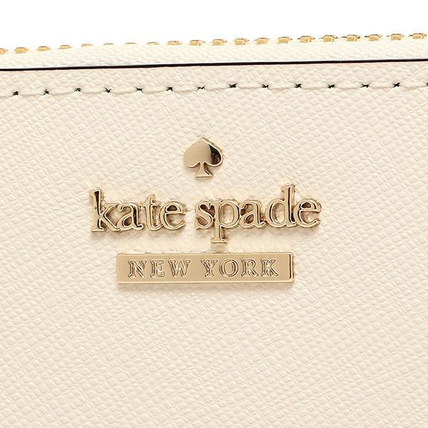 ケイトスペード 長財布 レディース KATE SPADE PWRU5073 198 ホワイト/ピンクベージュ