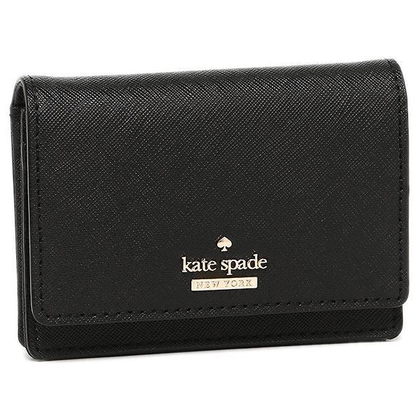 ケイトスペード カードケース レディース KATE SPADE PWRU5096 001 ブラック