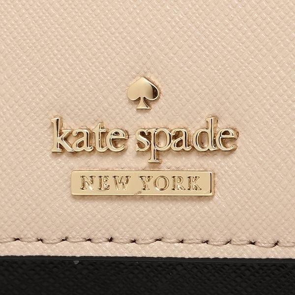 ケイトスペード キーケース レディース KATE SPADE PWRU5256 913 ピンクベージュ ブラック
