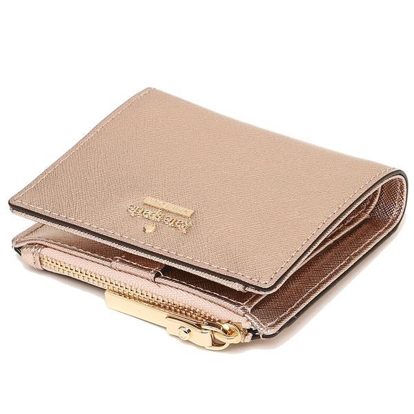ケイトスペード 二つ折財布 レディース KATE SPADE PWRU5451 705 ローズゴールド