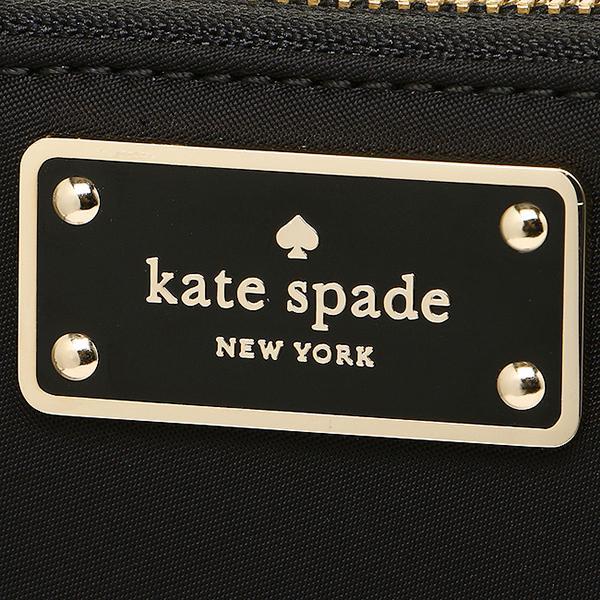ケイトスペード 長財布 アウトレット レディース KATE SPADE WLRU2356 001 ブラック