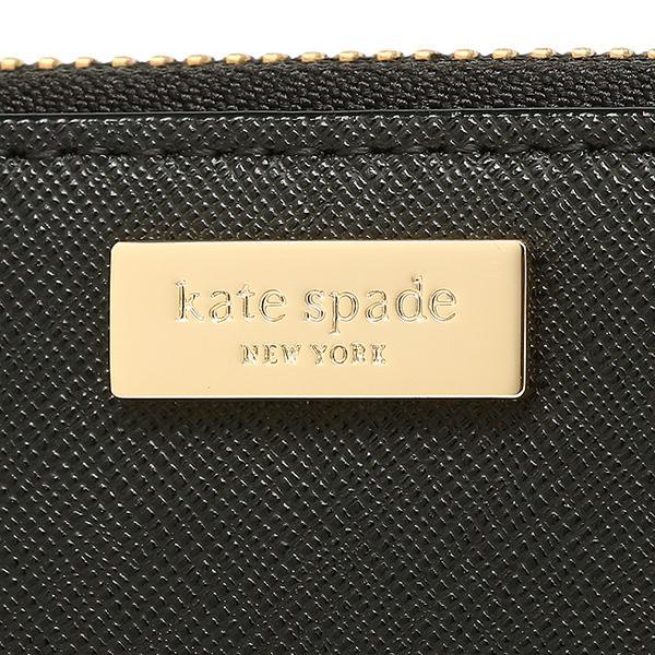 ケイトスペード 長財布 アウトレット レディース KATE SPADE WLRU2669 001 ブラック