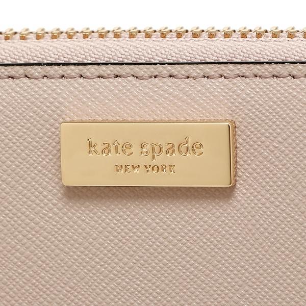 ケイトスペード 長財布 アウトレット レディース KATE SPADE WLRU2670 184 ベージュ ブラック