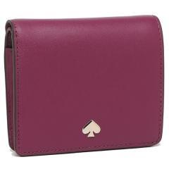 ケイトスペード 折財布 アウトレット レディース KATE SPADE WLRU5595 872 ピンクパープル