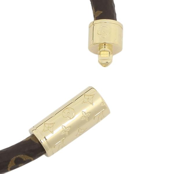 40b3d354e6 ... ルイヴィトン ブレスレット アクセサリー レディース LOUIS VUITTON M6168 ブラウン ゴールド サイズをお選びください  サイズ ...