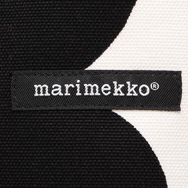 マリメッコ バッグ MARIMEKKO 043461 030 SILJA UNIKKO ウニッコ トートバッグ レディース WHITE/BLACK
