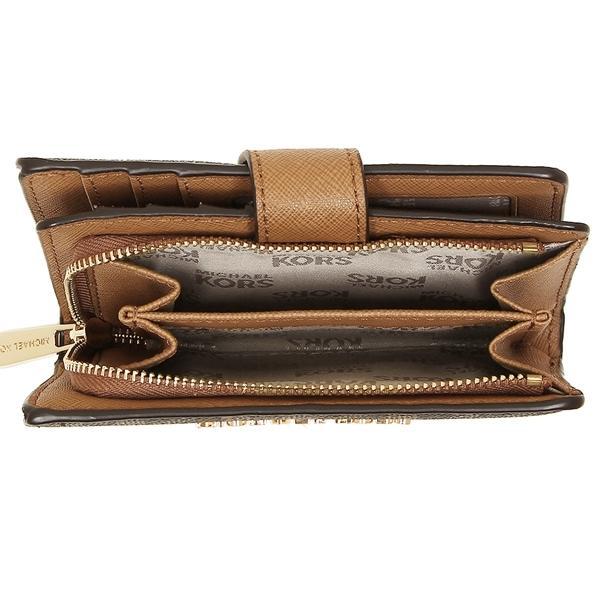 wholesale dealer 70274 e9afc マイケルコース 二つ折り財布 アウトレット レディース MICHAEL KORS 35F7GTVF2B ブラウン