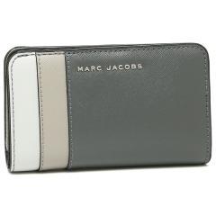 マークジェイコブス 折財布 レディース MARC JACOBS M0013706 093 グレーマルチ